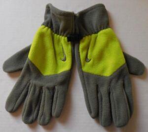 NIKE Adult Unisex Sport Thermal Fleece Tech Gloves Color Iron Green/Fierce New