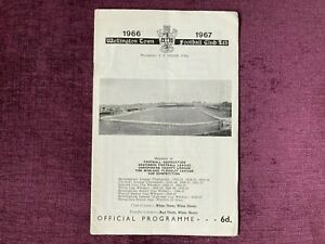 WELLINGTON TOWN v BEDFORD TOWN 1966/67 SOUTHERN LEAGUE