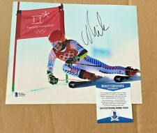 MIKAELA SHIFFRIN OLYMPIC SKIER SIGNED 8X10 PHOTO BECKETT CERTIFIED #3