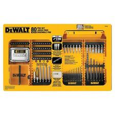 DEWALT Drilling Driving Drill Bits Bit Heavy Duty Set Magnetic Bit Tip 80-Piece