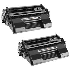 2 PACK 52114501 Black Printer Laser Toner Cartridge for Okidata B6200 B6200N