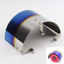 "Blue-Cone Stainless Steel Heat Shield Air Intake Cover - Fit 2.5"" -3.5"" Diameter"