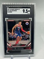 2019-20 Panini Chronicles Playbook #171 Rui Hachimura RC SGC 9.5 Mint+ - Wizards