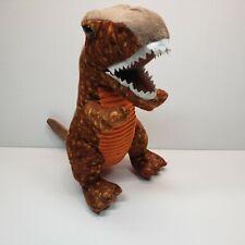"Dinosaur Tyranasaurus Rex T Rex Plush Stuffed Animal Toy 15"" Corduroy Brown"