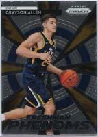Grayson Allen Freshman Phenoms Rookie Card 2018-19 Prizm Basketball #21 Utah