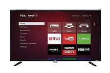 TCL 40FS3800 40-inch 1080p 120Hz Roku Smart LED HDTV w/ Built-in Wi-Fi & 3 HDMI