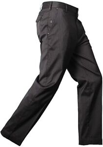 Men's Ping Malone Pinstripe Golf Trousers Water Resistant W34 L33