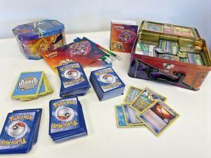 Pokemon Cards Bundle Huge Job Lot in Tins Trading Card Game