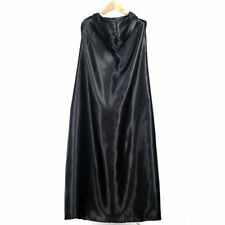 Good Quality Black Devil Hooded Cloak Fashion Style Long Type Cloak BU