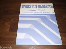 #H116 HONDA CIVIC COUPE 1996-2001 KAROSSERIE UNFALL WERKSTATT HANDBUCH 6GES0230
