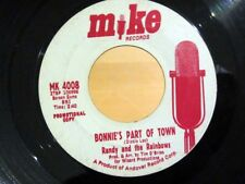 Garage 45 RANDY AND THE RAINBOWS Bonnie's Part Of Town MIKE MK-4008 PROMO