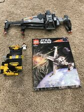 Lego Star Wars B-Wing Fighter Set 6208 Near Complete w/ Minifigs 2006 Ten Numb