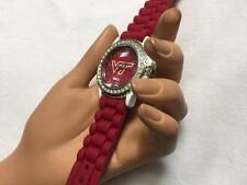New Virginia Tech Licensed Team Watch Official Licensed Gel Band