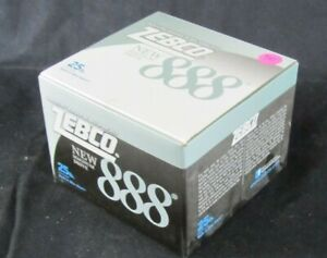 Zebco 888 Fishing Reel 25 lb line new in box