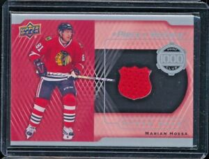 2016-17 Upper Deck A Piece of History 1000 Point Club #PC-MH Marian Hossa Jersey