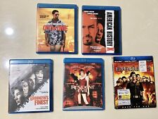 Blu-ray Lot (5): American History X, Brooklyn's Finest, Expendables 2. Read/Info