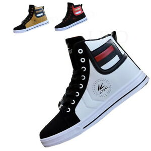 Lot Fashion Men Casual Shoe High Top Sport Outdoor Athletic Running Sneaker Boot
