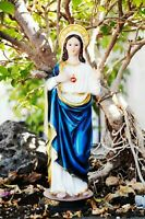 "12"" IMMACULATE HEART OF MARY FIGURINE INMACULADO CORAZON DE MARIA CATHOLIC GIFTS"