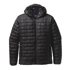 Patagonia Men's Nano Puff® Hoody - Black - Size S **Low Price**