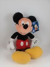 Disney Mickey Mouse Fuzzy Plush Character Direct Limited Tags