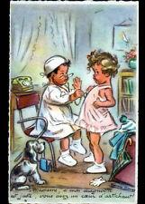 ENFANTS chez le DOCTEUR , illustrée par Germaine BOURET / avec correspondance