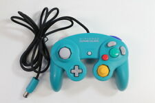 Official Nintendo GameCube Controller Pad Teal Emerald Blue T3 Tight OEM GO500