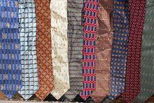 Bill Blass LOT of 10 Men Silk Neckties (LOT 2366)