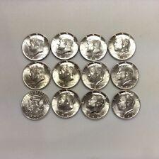 1964-D 50C Kennedy Silver Half Dollars GEM BU+ From Original Roll, single coin