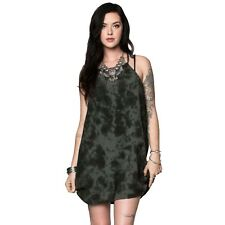Metal Mulisha Maidens Women's Sharp Shooter Dress Tonal Tie Dye Allover Print