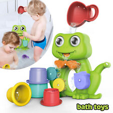 Kids Bath Toys Frog Spray Water Shower Tub Faucet Bathroom Toy For Baby Children