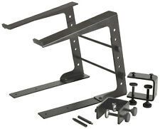Citronic Compact Laptop Stand with Desk Clamps LS-01C for DJ