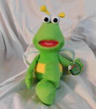 "New 18"" Twiddlebug Plush Sesame Street Place Classic Char Green Twiddle Bug Rare"