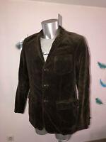 veste velours marron RALPH LAUREN taille 40R (M) comme neuve valeur 345€