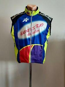 Assos Sleeveless airblock Cycling shirt Jersey Bike Racing Hand Made Vintage L