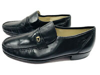 NEW Florsheim Como Imperial Men's Loafer Black Leather 17116-01 Sz 13