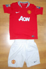 Nike Manchester United 2011/2012 Rooney home shirt with shorts (For age 10/12)