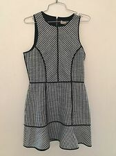 Sass & Bide Dress NWT Euphoric Flux Sleeveless Black White AUS 8 UK12 $590.00