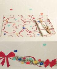 "Fiesta Christmas Swag Tablecloth 60"" x 84"" Holiday Table Cloth"