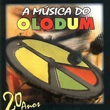 A Musica do Olodum 20 Anos Brazilian African Music Percussion Bloco Afro Brazil