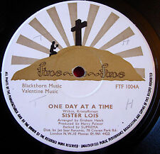 """Sister Lois One Day At A Time 12"""" Face To Face bw Mansion Over The Hilltop VINYL"""