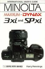 Minolta Classic Cameras 3Xi & Spxi instruction manual book guide