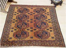 134x124 cm antik orient Nomaden Teppich Turkmen Ersari bukhara Carpet Rug Nr:4
