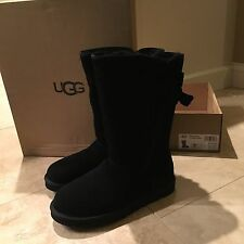 NWT UGG Women's Boot Size 6 Tall Allegra Black NIB