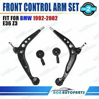 Fit BMW 1992-2002 E36 318i 323i 325i 328i Z3 Front Lower Control Arm Kit Set