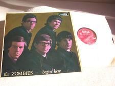 The Zombies – Begin Here , Decca  LK 4679 : Vinyl, LP, Album,LP,MONO,1st UK