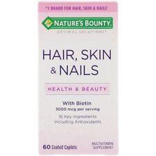 Nature's Bounty, Cabello, Piel y uñas, 60 Comprimidos Cápsulas