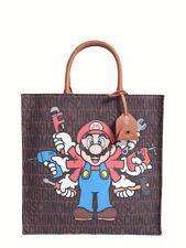 SALE! $850 MSRP MOSCHINO Couture Jeremy Scott Super Mario Nintendo Shopper Bag
