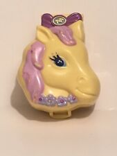 ✨ 1994 Vintage Bluebird Polly Pocket Pony Ridin Horse Pet Parade Compact Only