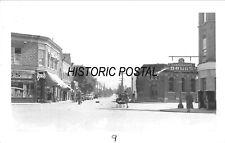 CHILLIWACK BRITISH COLUMBIA CA~STREET VIEW-STOREFRONS~1948 REAL PHOTO POSTCARD