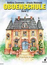 Oboe Noten Schule : Oboenschule Band 2 (Doemens Maiwald)  ED8163